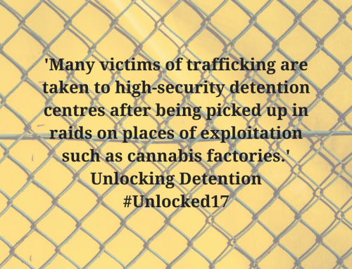 Trafficked into detention