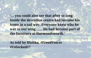 Mishka quote Harmondsworth | Unlocked18