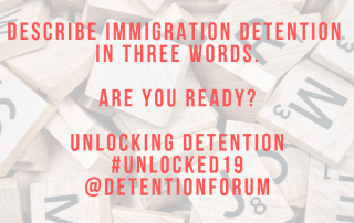 Three Words | Unlocking Detention 2019