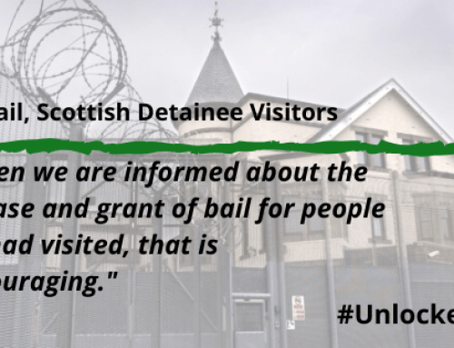 Visiting people held in Dungavel immigration detention centre