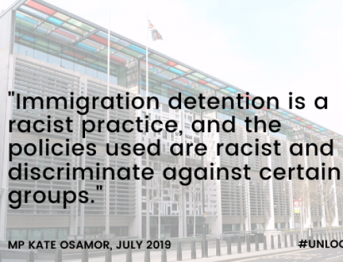 The silencing of race in NGO and charity campaigning against detention